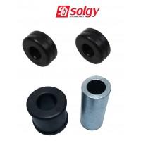 Т4 комплект сайлентблоков для ПЕРЕДНЕГО амортизатора (SOLGY - Испания)