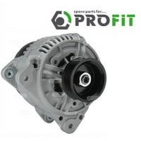 Т4 генератор 2.4D, 2.5TDI 120A под ручейковый ремень с прямоугольным разъемом (PROFIT - Чехия)