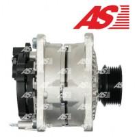 Т4 генератор 2.4D, 2.5TDI 90A под ручейковый ремень с полукруглым разъемом (AS - Польша)