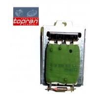 Т4 резистор мотора отопителя TOPRAN