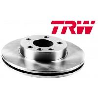Т5 Тормозные диски задние 294мм ВЕНТИЛИРУЕМЫЕ (TRW - Германия)