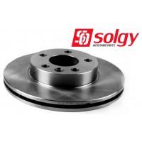Т4 Тормозные диски передние 2.5B, 2.4D, 2.5TDI после 1996г. ВЕНТИЛИРУЕМЫЕ (SOLGY - Испания)