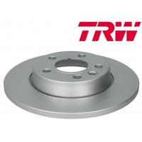 Т4 Тормозные диски задние НЕ ВЕНТИЛИРУЕМЫЕ (TRW - Германия)