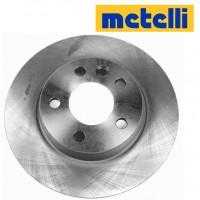 Т4 Тормозные диски задние НЕ ВЕНТИЛИРУЕМЫЕ (METELLI -Италия)