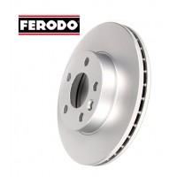 Т4 Тормозные диски передние после 1996г. вентилируемые (FERODO)