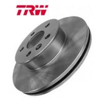 Т4 Тормозные диски передние до 1996г. вентилируемые (TRW)