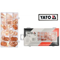 Набор медных колец-шайб (150 ед) (YATO)