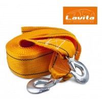 Трос для буксировки 10 т, 6 м х 75 мм (LAVITA - Украина)