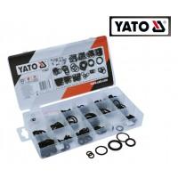 Набор резиновых прокладок (сальников) 3мм - 12мм (225 ед) (YATO)