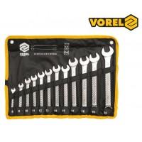 Набор накидных рожковых ключей(12 шт) (VOREL)