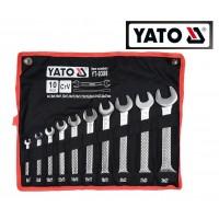 Набор гаечных (рожковых) ключей 6-27 мм (10 шт) (YATO)