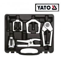 Набор съемников наконечника рулевой тяги и шаровой опоры(5 ед) (YATO)
