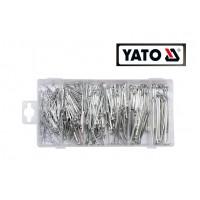 Набор хромированных шплинтов (555 ед) (YATO)