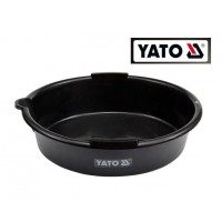 Поддон пластиковый для слива масла 8 л (YATO)