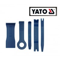 Набор съемников для снятия обивки и автомобильных молдингов (5 ед) (YATO)