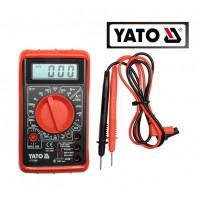Измеритель (тестер) универсальный цифровой (YATO)