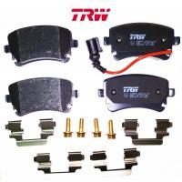 Т5 задние колодки с датчиком (TRW)