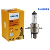 Т4, Т5 лампа в фару H4 +30% (PHILIPS)
