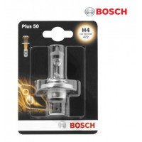 Т4, Т5 лампа в фару H4 12V 60/55W +50% (BOSCH)