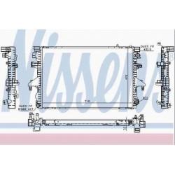Радиатор двигателя для VW Transporter 5 с объемом 2.5TDI