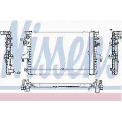 Радиатор охлаждения двигателя для VW Transporter 5 с объемом 2.0TDI