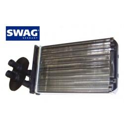 Радиатор печки (отопителя салона) для VW Transporter 4 с кондиционером (SWAG)