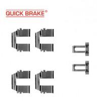 Т4 пластины - пружинки задних колодок (QUICK BRAKE)