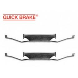Прижимные пружинки ПЕРЕДНИХ колодок VW Transporter 4 и VW Transporter 5 (QUICK BRAKE)