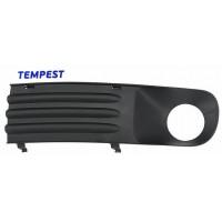 Т5 левая решетка бампера под противотуманку (TEMPEST)