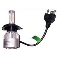 Т4, Т5  Светодиодная (LED) лампа в фары H4 (Эконом)