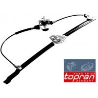 Т4 стеклоподъемник ЛЕВЫЙ механический до 1996г. (TOPRAN - Германия)