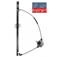 Т4 стеклоподъемник ПРАВЫЙ механический после 1996г. (TOPRAN - Германия)