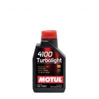 Масло моторное  10W-40 4100 Turbolight  1 л (MOTUL)