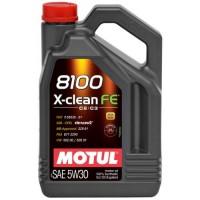 Масло моторное  5W-30 8100 X-clean FE 5л (MOTUL)