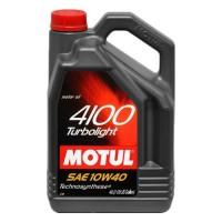 Масло моторное  10W-40 4100 Turbolight  5 л (MOTUL)